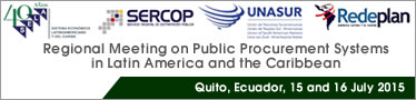 Regional meeting on public procurement systems in Latin America and the Caribbean