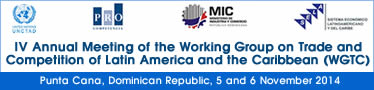 IV Annual Meeting of the Working Group on Trade and Competition in Latin America and the Caribbean (WGTC)